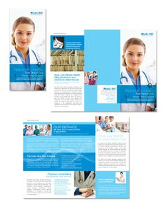 Medical Center Brochure Design | Heart, Medical center and Health ...