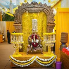 When you're looking for flower decorators in Hyderabad or Wedding Stage Decoration, choose the best professionals. Mars Event Planner would help make your perfect celebration happen in a unique and luxurious style. Housewarming Decorations, Diy Diwali Decorations, Backdrop Decorations, Festival Decorations, Wedding Decorations, Backdrops, Flower Decoration For Ganpati, Ganpati Decoration Design, Flowers Decoration