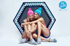 Czapki na głowy i na trening! #fit #sport #fitandjump #fitnessnatrampolinach #siostry_adihd #polishgirls