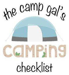 Camping checklist for my wife!  #pasch #wyndellpasch #home #buyahomeinutah #utahrealestate #realestate #northernutah #food #house