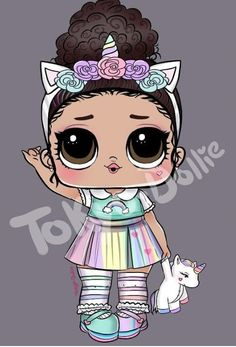 Tokyo Dollie - Cute Unicorn girl requested by Disney Wall Decals, Edible Printing, Lol Dolls, Cute Unicorn, Tumblr Funny, Cute Drawings, Art Girl, Tokyo, Illustration Fashion