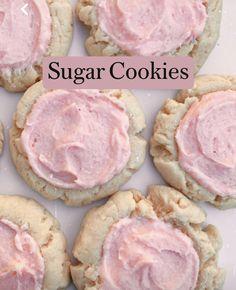 Fun Baking Recipes, Sweet Recipes, Dessert Recipes, Baking Ideas, Snack Recipes, Healthy Recipes, Easy Sugar Cookies, Cookies Vegan, Vegan Cookie Recipes