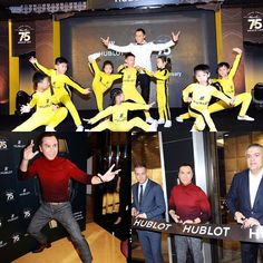 Donnie Yen-甄子丹 Official Last at Hublot/75th Bruce Lee anniversary event . My respect to the master; The way of the intercepting fist.  #donnieyen #甄子丹 #actionmovies #ipman3 #kungfu