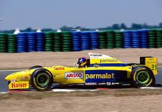 Resultado de imagen para Parmalat Forti Ford F-1 1995