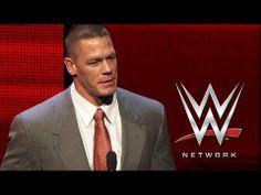 John Cena reveals the launch date of WWE Network, February 24, 2014.