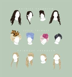 Hairdos of #TheHungerGames!