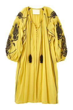 スタイリスト佐々木敬子プロデュース 大人に向けたライフスタイルブランド【MYLAN】のEmbroidery kaftan dress