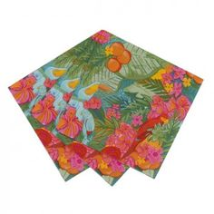 Tropical Fiesta Party Napkins | The Party Cupboard