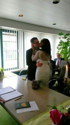 First kiss!!