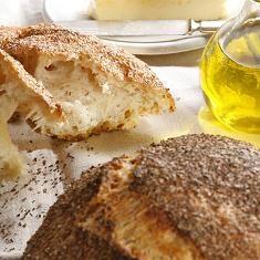 No-knead Bread (via www.foodily.com/r/4rKCO8vm2)
