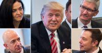 Tim Cook cerca di convincere Trump a non uscire dallAccordo di Parigi sul Clima
