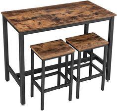 Bar Table And Stools, Bar Table Sets, Wood Table Bases, Bar Chairs, Table And Chairs, Bar Tables, Dining Table, High Bar Table, High Tables
