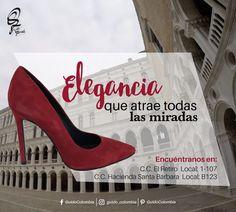 Atrae todas las miradas #GuidoColombia #Elegancia #HaciendaSantaBarbara #ElRetiroShoppingCenter #Bogotá #Colombia