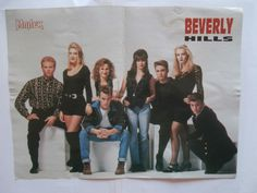 Beverly Hills Mini Poster from Greek Magazines clippings 1970s 1990s | eBay