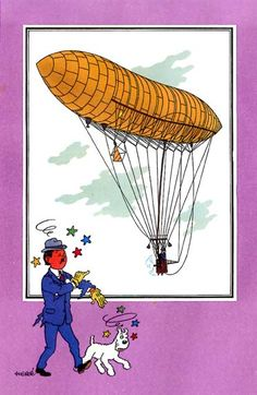 Ballon 28 : Dirigeable Santos-Dumont n° 1
