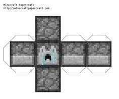 Minecraft crying dispenser printable
