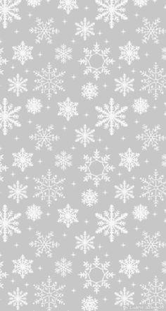 Imagen vía We Heart It #snow #snowflakes #wallpaper