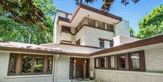 5 Frank Lloyd Wright Houses You Can Buy Right Now-Then let #PatdoLightStudio make them shine! http://www.housebeautiful.com/shopping/news/g4494/frank-lloyd-wright-houses/?utm_campaign=crowdfire&utm_content=crowdfire&utm_medium=social&utm_source=pinterest