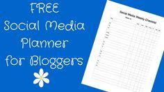 Social Media Checklist for Bloggers