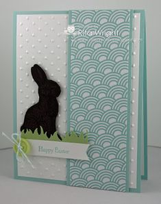 Cards by Rita: SCS424: Chocolate Bunny (Sycamore Street DSP)