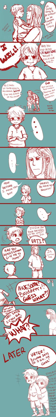 APH: Make good on a threat... by Assby on DeviantArt --- Prussia, Germania and Germany