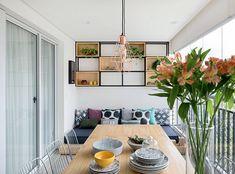 Apartamentos: 8 varandas gourmet coloridas | Minha Casa