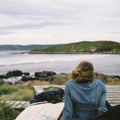 Cloudy Bay, Bruny Island. #surfing #tasmania #brunyisland #discovertasmania Image Credit: James Bowden