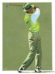 Golf Clubs Vintage Golf anyone? Again, originated in Scotland, the word golf is said to be an acronym: Gentlemen Only Ladies Forbidden. Claudio Bravo, Golf Etiquette, Golf Score, Golf Art, Best Golf Clubs, Vintage Golf, Golf Quotes, Golf Sayings, Golf Exercises