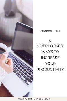 What comes to your mind when you think about increasing your productivity? Better time management? Organizing your workspace? Yes, all these things have their place when it comes to being productive. But they are useless when you don't have the energy to show up. If you feel your productivity is not where you want it to be, make sure to look at these areas. #entrepreneur #femaleentrepreneur #productivity #timemanagement #getthingsdone Time Management Tips, Online Entrepreneur, Business Advice, Growing Your Business, Getting Things Done, Petra, Problem Solving, Productivity, Helpful Hints