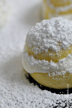 Cream Puffs Recipe from addapinch.com