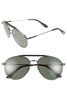 45a3bb25b86 Tom Ford  Colin  58mm Aviator Sunglasses available at  Nordstrom Latest  Sunglasses