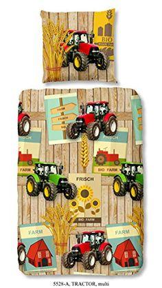 Inspirational Kinder Bettw sche Traktor Bauernhof