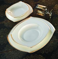 S Kare Slim Gold 84 Parça Yemek Takımı Pasta, Plates, Mugs, Dining, Tableware, Kitchen, Homes, Decoration, Random