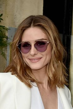 Olivia Palermo is seen arriving at the 'Schiaparelli' show during Paris Fashion Week Haute Couture Fall/Winter 20172018 on July 3 2017 in Paris France