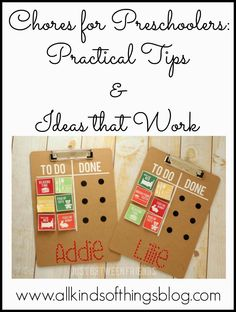 Chores for Pre-Schoolers: Practical Tips & Ideas that Work