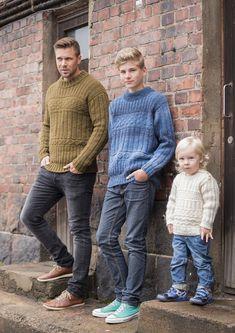 Pojan aranneulepusero Novita Joki | Novita knits