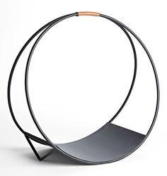 Modernist Loop Log Holder E1463