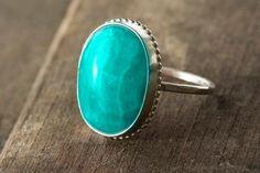 hermoso anillo turquesa ♥