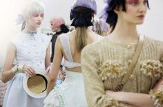 Chanel Resort 2013: photographs by Benoit Peverelli for Vogue UK