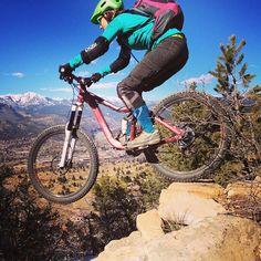 #mtb #enduro #durango Hitting bumps and landing jumps in Durango, Colorado!