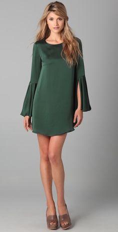 Elizabeth & James // Mable Dress // Slit Bell Sleeves