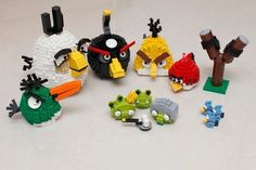 Lego Angry Birds. Cannot get away from these guys. Are they overcooked yet? What do you reckon? #taymai