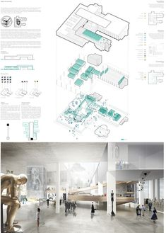 Winners of the competition yac – space to culture architecture panel, architecture visualization, architecture Presentation Board Design, Architecture Presentation Board, Project Presentation, Architecture Board, Architecture Visualization, Architecture Portfolio, Concept Architecture, Architecture Design, Architectural Presentation
