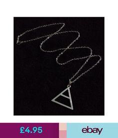 Necklaces & Pendants 30 Seconds To Mars Triad Triangle Silver Necklace Echelon Pendant Jared Leto Uk #ebay #Fashion