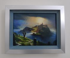 Magic Art of the Day - Island by Adam Paquette - Check out the owner's gallery here: