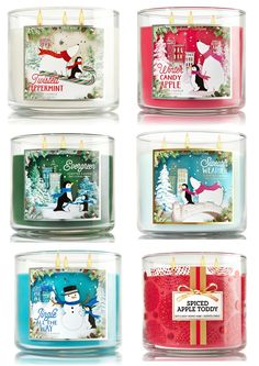 Bath and Body Works Holiday 2015 Candle Collection