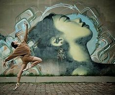 A nice photo by @ballerinaproject_ of a mural by @mac_arte in Arizona…