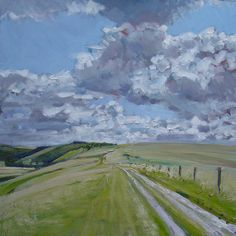 Oil pantings by Sussex artist, James Lightfoot Sussex Downs, Oil Painting On Canvas, Fields, Inspiring Art, Artist, Paintings, Inspiration, Biblical Inspiration, Painting Art