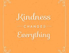 """Check out new work on my @Behance portfolio: """"Kindness changes everything"""" http://be.net/gallery/43866517/Kindness-changes-everything"""