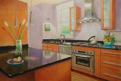 A 75K Kitchen on a 50 Cent Piece of Paper by Denny Holland